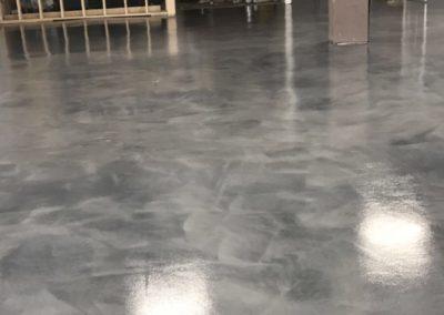 New Concrete Floor Installation